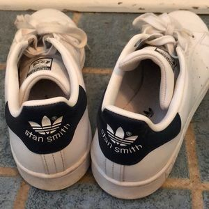 Adidas Navy Stan Smith Sneakers size 8.5